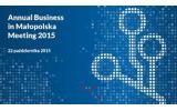Annual Business in Małopolska Meeting 2015
